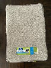 New listing Dog Bed Beige Orthopedic Foam For Medium Small Dogs Washable Cover 18.5�x28�x3�