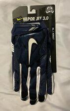 Nike Vapor Jet 3.0 Navy Blue - Advance Skill Glove (Mens Size Xl)