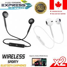 Wireless Bluetooth Headphones Sports PREMIUM Earphones for Samsung iPhone iPad
