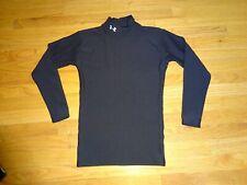 Men's Under Armour ColdGear Compression Black Shirt Size M