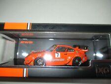 1 43 Ixo Porsche 911 (993) Rwb Rauh-welt Jägermeister Orange