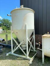 New listing 100 Cubic Foot Pneumatic Conveying Receiving Bin