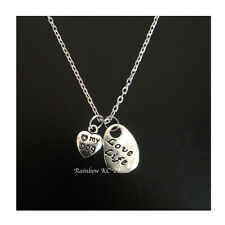 Charms Pendant On Link Necklace Chain Beautiful Love Life Love My Dog