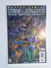 Thing and She-Hulk The Long Night #1, 8.0/VF (2002)