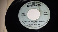"""RUFUS THOMAS The Dog / diD You Ever Love A Woman STAX 130 SOUL 45 7"""" VINYL"""