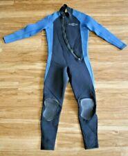 Bare 5mm Velocity Men's Full Suit Medium Black/Blue