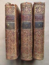 BERNARDIN DE SAINT PIERRE : ETUDES DE LA NATURE, 1786. 3 volumes complet.