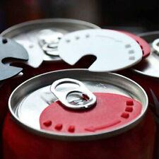 5x Beverage Lid Cap Soda Beverage Drink Snaps Tops Cover Beer 4.5*3.5cm Plastic