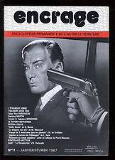ENCRAGE n° 11 E.R. BURROUGHS  Michael MOORCOCK janvier 1987 + Supplément au n°11
