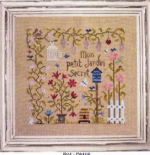 Mon Petit Jardin Secret - pretty cross stitch chart - Jardin Prive