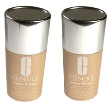 2 pc LOT CLINIQUE Foundation 19 Clove & 20 Sienna Even Better Evens & Correct
