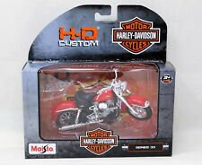 Harley Davidson 1958 FLH Duo Glide 1:18 Scale Replica Motorcycle Sealed NIB