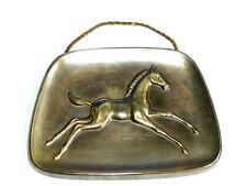 Kleine Wandbild Motiv Pferd Metall 14 x 10cm