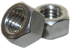 Metric Stainless steel Finished Hex Nuts M6 Qty 25