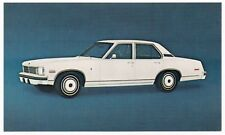 1975 Chevrolet NOVA LN 4-Door SEDAN Dealer Promotional Postcard UNUSED VG+/Ex