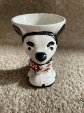 More details for early rare vintage mickey mouse egg cup red trousers