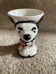Early Rare Vintage Mickey Mouse Egg Cup Red Trousers