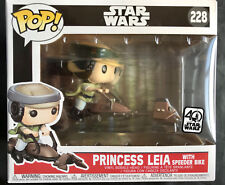 FUNKO Star Wars Princesa Leia Con Speeder Bike POP Figura De Vinilo