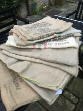 Job Lot African Sundried Coffee Beans Sacks Used Garden Cushions Chairs Benches