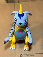Bandai 2000 Digimon Digivolving Gabumon to Weregarurumon Micro Playset Mini