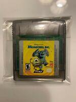 Monsters Inc Gameboy Color Cartridge