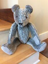 German mohair hand sewn Steiff hand made folk replica teddy bear no tags (259)