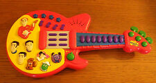 "2004 The Wiggles Touring Guitar Toy Works Plays Childrens 16"" Long"