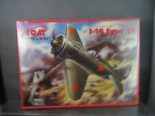 ICM 1:72 WWII Soviet Fighter I-16 Type 18 # 72072 New in Box