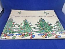 Spode CHRISTMAS TREE - Table Cloth 60 x 84""