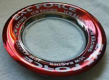 "ICW Racing EXT Force Red Lug Cover  5-5/8"" O.D approx."