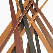 Full Grain Harness_Bridle Leather Heavy Duty Straps Strips_1/2, 3/4 or 1 width