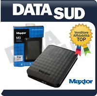 HARD DISK ESTERNO 2,5 USB 3.0 1TB 1000GB MAXTOR - AUTOALIMENTATO - STSHX-M101TCB
