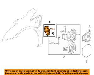 Cadillac GM OEM 14-16 ELR Fender-Charging Port 23281029