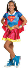 Supergirl Superhero DC Comics Girls Fancy Dress Party Book Day Costume SM Med LG Large 8 - 10 Years