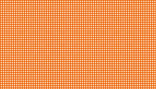 Gingham CORAL - WHITE cotton fabric Makower 55 cm x 50 cm larger available