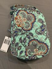 VERA BRADLEY LUNCH TOTE LUNCH BOX FAN FLOWERS - New With Tags