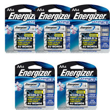 20 Pack Energizer AA Ultimate Lithium Batteries FRESH In Retail Packaging