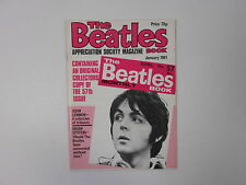 BEATLES BOOK MONTHLY Magazine JANUARY 1981 ISSUE 57  3-A