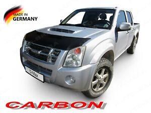 CARBON LOOK BONNET BRA fits ISUZU Chevrolet D-Max 2006-2012 STONEGUARD PROTECTOR