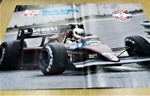 @ Q10 Mini Poster Mini Poster Martin Brundle GP USA Detroit 1984
