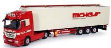 - TEK61735 - Camion 4x2 MERCEDES ACTROS LH MP3 et remorque 3 essieux Cargo Floor
