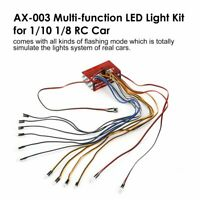 Multi-function LED Light Kit Syestm for 1/10 1/8 RC Car HSP TAMIYA CC01 SCX10 *
