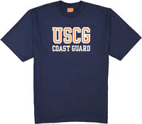 USCG Cotton T-Shirt, Genuine Issue, Military Surplus, U.S. Coast Guard