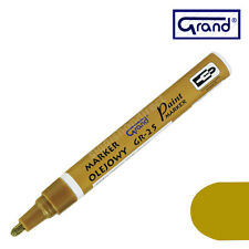 New Permanent Gold Paint Marker Oil Based Waterproof Pen Wood Glass Plastic Tyre