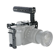 NICEYRIG Camera Cage Kit Cheese Top Handle NATO Rail for Panasonic GH5 GH5S