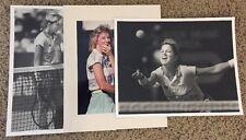 Press Photo Female Tennis Player Star Open Tournament Chris Everett Wimbledon