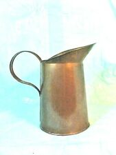 Vintage OLD Solid Copper 3 CUP WATER, MOSCOW MULES, DRINKS Farmhouse Decor