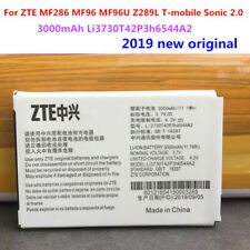 3000mAh Li3730T42P3h6544A2 3.7V Battery For ZTE MF286 MF96 MF96U Z289L Tested