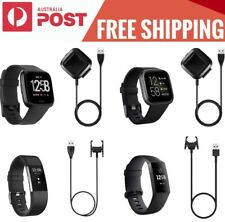 USB Charger Cable For FitBit Versa1/2/3 Sense Charge 2/3/4 Inspire Alta HR ACE2