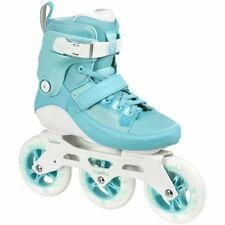 Powerslide Roller Blade/Inline Skate - Swell 110 Aqua Womens Us6/Eu39